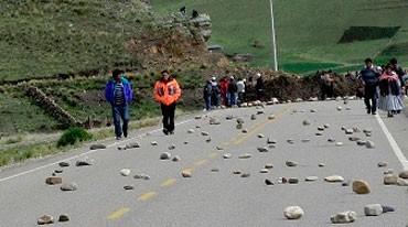 ANTAUTA: Dirigentes estarían preparando nuevo paro en Antauta-Melgar