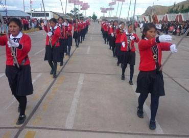 NUÑOA: Colegio Túpac Amaru celebró 50 aniversario en Nuñoa-Melgar