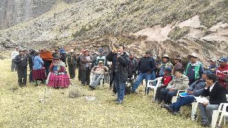 Representantes de Ocuviri, Llalli, Cupi, Umachiri, Vila Vila y Orurillo, acuerdan paralizar el 31 de agosto contra Aruntani y Las Aguilas.