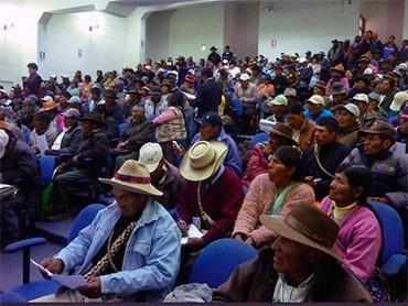 NUÑOA: Rondas campesinas se hacen respetar con el alcalde de Nuñoa