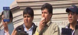 Pedro Castillo anunció que se suspendió temporalmente la huelga de maestros