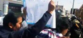 Tacna: maestros protestaron e impidieron paso de Ministra de Educación