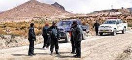 Puno: Capturan a 5 presuntos delincuentes dedicados a asaltar en carretera Sandia – Juliaca