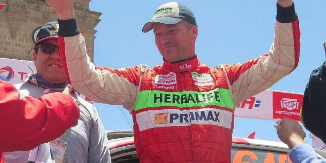 Nicolás Fuchs ganó la segunda etapa de Caminos del Inca hoy sera la tercera etapa
