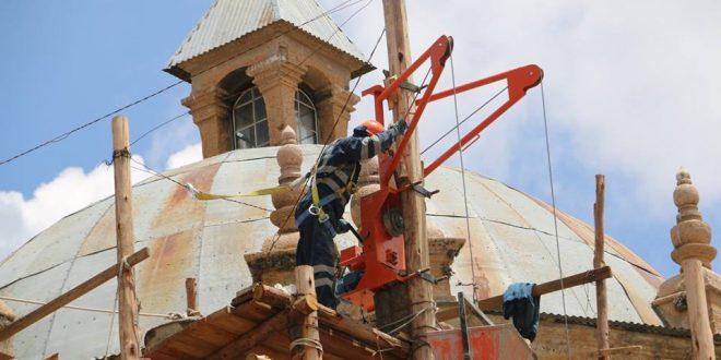 AYAVIRI: ¿En qué avance esta la reconstrucción de nuestra catedral san francisco de asis? un proyecto histórico que viene ejecutando la municipalidad.