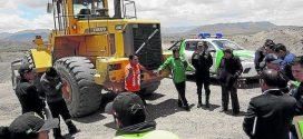 Denunciarán penalmente a extractores de arena del río Ayaviri