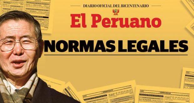 Se publicó en El Peruano el indulto al ex presidente Alberto Fujimori