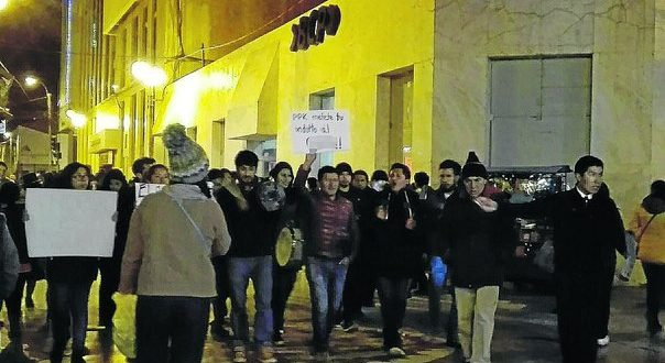 Tercer día de movilizaciones en contra del indulto a Fujimori