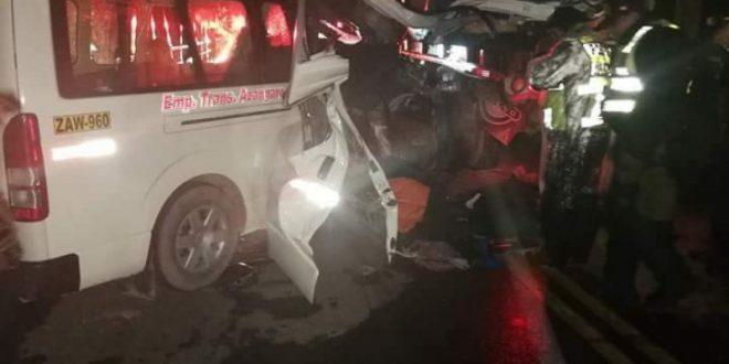 CUATRO MUERTOS DEJA ACCIDENTE EN LA CARRETERA JULIACA-AZÁNGARO.