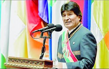Evo Morales: 12 años en el poder