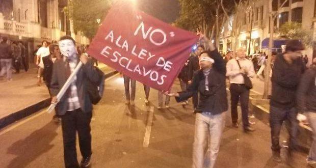 Convocan marcha contra proyecto de modalidad formativa no remunerada