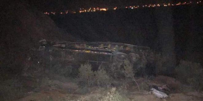 Al menos 30 muertos tras caída de bus por un abismo en Arequipa
