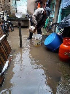 Puno: Lluvias y granizada afectó viviendas del distrito de Antauta
