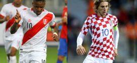 PERÚ VS. CROACIA: FECHA, HORA EN VIVO PPV DEL AMISTOSO POR FECHA FIFA