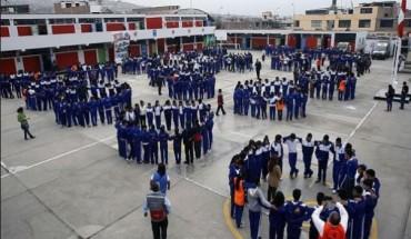 6 mil 400 instituciones educativas ejecutaran el simulacro de sismo