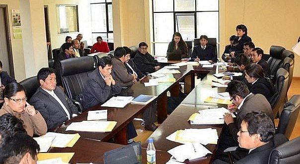 Consejo Regional de Puno intervendrá sectores Salud y Educación