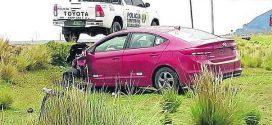 Dos accidentes reportan en las carreteras del sur y tres resultaron heridos