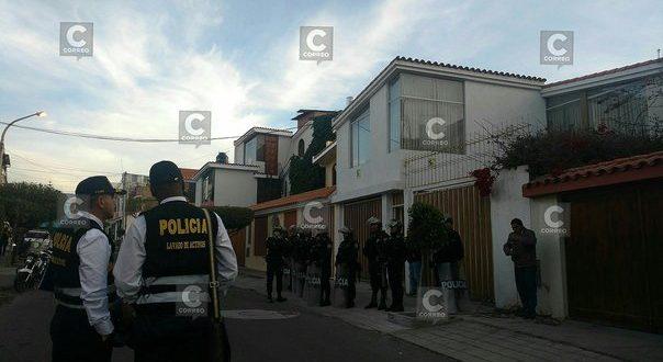 Incautan inmuebles del ex alcalde de Azángaro – Puno