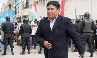 Puno: Juzgado revoca habeas corpus para exalcalde de Azángaro Efraín Murillo y ordena su captura