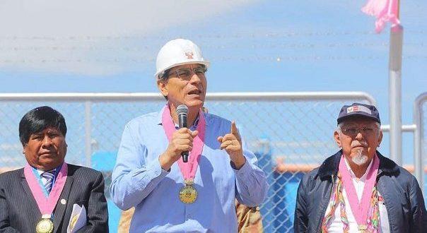 Presidente Vizcarra tomará distancia en conflicto Puno-Moquegua