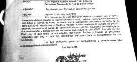 """Secretaría técnica de Redess Melgar investiga """"compra"""" de plazas"""