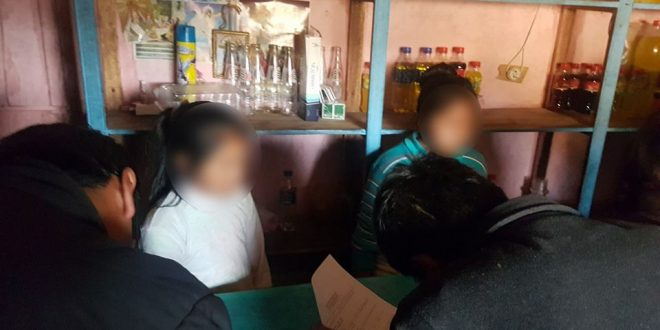 AYAVIRI: menores de edad atendían en cantinas y jóvenes en estado etílico fueron intervenidos en la moya