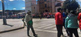 AZÁNGARO: 70% DE PROFESORES ACATARON HUELGA
