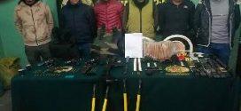 "Caen seis de temida banda ""Los Primos"" en mina La Rinconada"