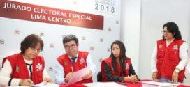JNE: 11,789 listas de candidatos están inscritas para comicios de octubre