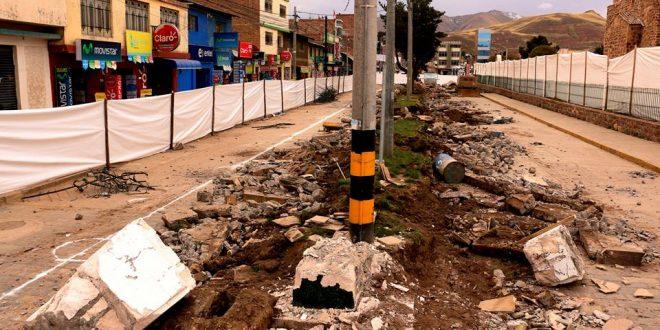 INICIAN LA CONSTRUCCIÓN DE LAS ALAMEDAS GABINO PACHECO ZAGARRA Y FELIPE SANTIAGO CASTRO DE AYAVIRI.