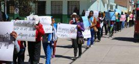 AYAVIRI: ESTUDIANTES REALIZAN MARCHA DE SENSIBILIZACIÓN DE PROTECCIÓN DEL AIRE