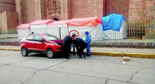 Alcalde de Ilave se pasa la luz roja y manda al hospital a mototaxista