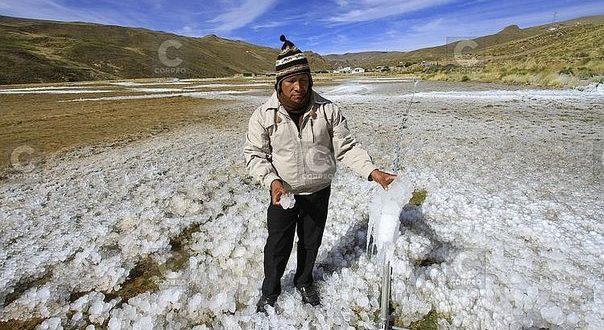 Descenso de temperatura en Arequipa, Cusco, Puno,Tacna, Apurímac, Moquegua