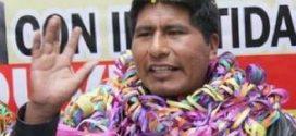 ONPE confirma a Walter Aduviri como nuevo gobernador regional de Puno