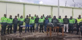 Puno: Detienen a un policía y seis acusados de transportar pasta básica de cocaina