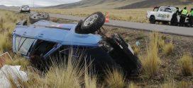 La vía Ayaviri – Orurilllo  ayer  25 de octubre  se tiño nuevamente de sangre