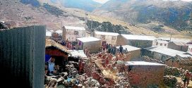 Una docena de viviendas quedó afectada tras sismo de 4.8 grados en Puno