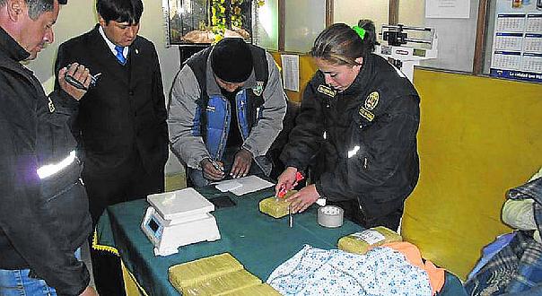 Puno: PNP contabiliza más de mil kilos de droga incautados en 2018