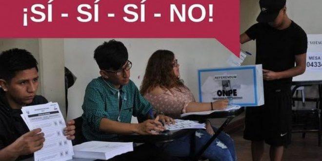 BOCA DE URNA: EL SÍ SÍ SÍ NO SE IMPUSO EN REFERÉNDUM SEGÚN PRIMEROS RESULTADOS